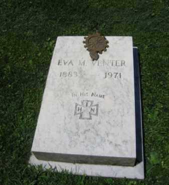 VENTER, EVA M. - Northampton County, Pennsylvania | EVA M. VENTER - Pennsylvania Gravestone Photos