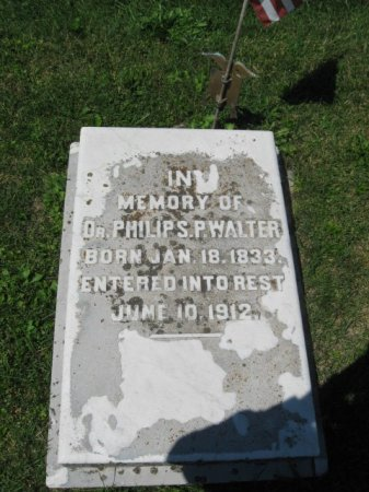 WALTER (CW), PHILIP S. P. - Northampton County, Pennsylvania   PHILIP S. P. WALTER (CW) - Pennsylvania Gravestone Photos