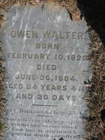 WALTER, OWEN - Northampton County, Pennsylvania | OWEN WALTER - Pennsylvania Gravestone Photos