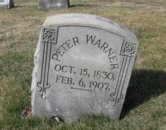 WARNER, PETER - Northampton County, Pennsylvania   PETER WARNER - Pennsylvania Gravestone Photos