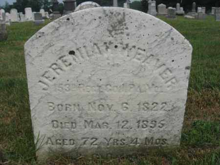 WEAVER  (CW), CORP.JEREMIAH - Northampton County, Pennsylvania   CORP.JEREMIAH WEAVER  (CW) - Pennsylvania Gravestone Photos