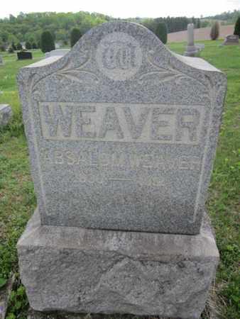 WEAVER, ABSALOM - Northampton County, Pennsylvania | ABSALOM WEAVER - Pennsylvania Gravestone Photos