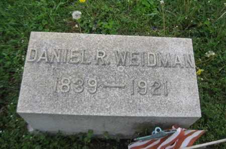 WEIDMAN (CW), DANIEL R. - Northampton County, Pennsylvania   DANIEL R. WEIDMAN (CW) - Pennsylvania Gravestone Photos