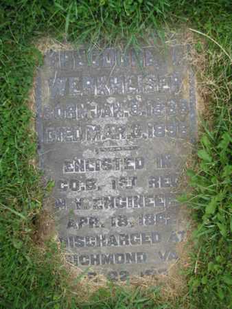 WERKHEISER (CW), THEODORE - Northampton County, Pennsylvania | THEODORE WERKHEISER (CW) - Pennsylvania Gravestone Photos