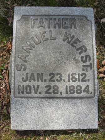 WERST, SAMUEL - Northampton County, Pennsylvania   SAMUEL WERST - Pennsylvania Gravestone Photos