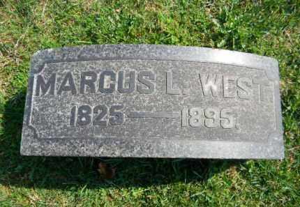 WEST, MARCUS - Northampton County, Pennsylvania | MARCUS WEST - Pennsylvania Gravestone Photos