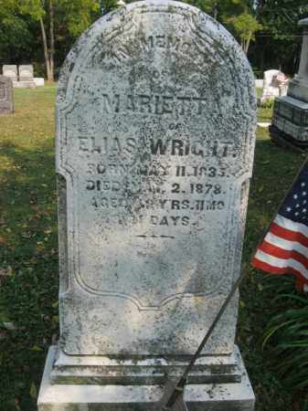 WRIGHT, MARIETTA - Northampton County, Pennsylvania | MARIETTA WRIGHT - Pennsylvania Gravestone Photos