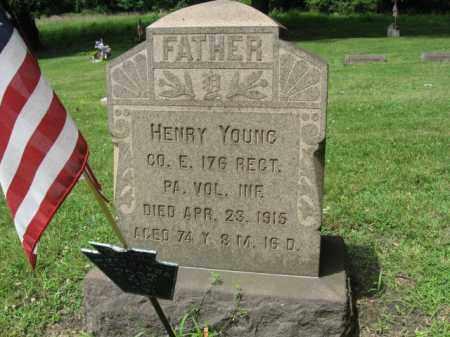 YOUNG (CW), HENRY - Northampton County, Pennsylvania | HENRY YOUNG (CW) - Pennsylvania Gravestone Photos