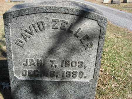 ZELLER, DAVID - Northampton County, Pennsylvania | DAVID ZELLER - Pennsylvania Gravestone Photos