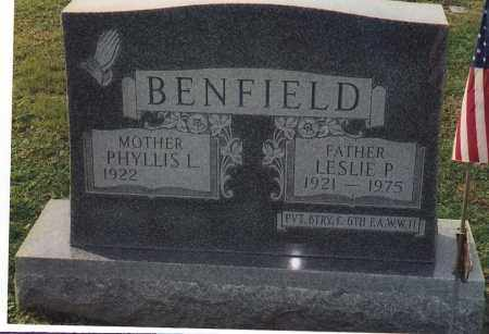 BENFIELD, PHYLLIS L - Northumberland County, Pennsylvania | PHYLLIS L BENFIELD - Pennsylvania Gravestone Photos