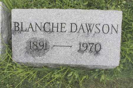 DAWSON, BLANCHE - Northumberland County, Pennsylvania | BLANCHE DAWSON - Pennsylvania Gravestone Photos