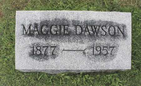 DAWSON, MAGGIE - Northumberland County, Pennsylvania | MAGGIE DAWSON - Pennsylvania Gravestone Photos