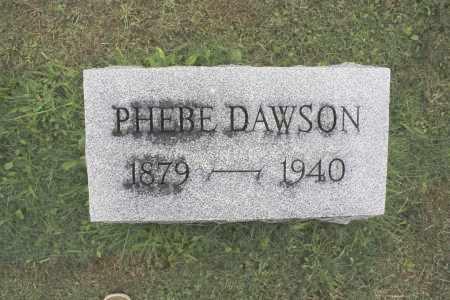 DAWSON, PHEBE - Northumberland County, Pennsylvania   PHEBE DAWSON - Pennsylvania Gravestone Photos