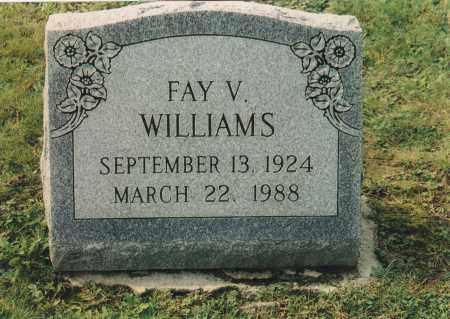 FRANCIS, FAY  V. - Northumberland County, Pennsylvania | FAY  V. FRANCIS - Pennsylvania Gravestone Photos