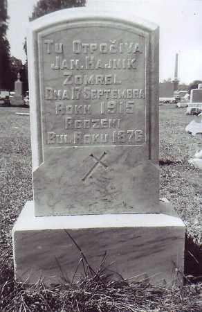 HAJNIK, JAN - Northumberland County, Pennsylvania   JAN HAJNIK - Pennsylvania Gravestone Photos