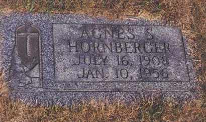 HORNBERGER, AGNES S - Northumberland County, Pennsylvania   AGNES S HORNBERGER - Pennsylvania Gravestone Photos