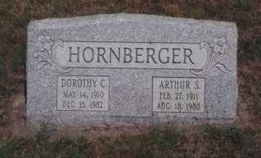 HORNBERGER, ARTHUR S - Northumberland County, Pennsylvania   ARTHUR S HORNBERGER - Pennsylvania Gravestone Photos