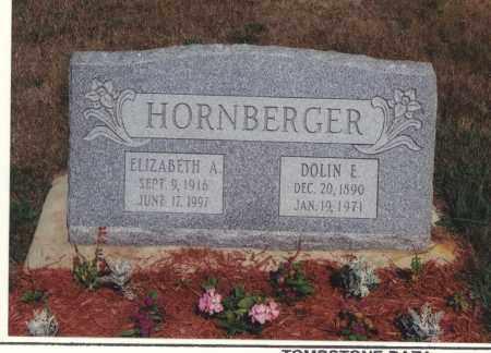 HORNBERGER, DOLIN E - Northumberland County, Pennsylvania   DOLIN E HORNBERGER - Pennsylvania Gravestone Photos