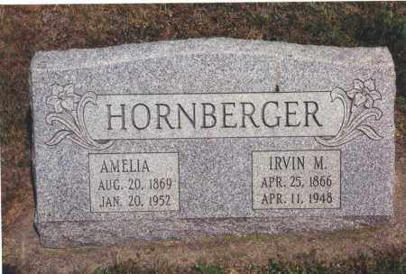 HORNBERGER, IRVIN M - Northumberland County, Pennsylvania | IRVIN M HORNBERGER - Pennsylvania Gravestone Photos