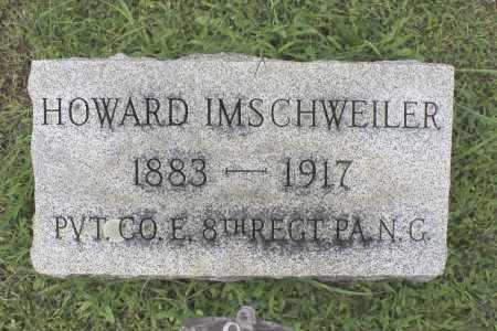 IMSCHWEILER, HOWARD - Northumberland County, Pennsylvania   HOWARD IMSCHWEILER - Pennsylvania Gravestone Photos