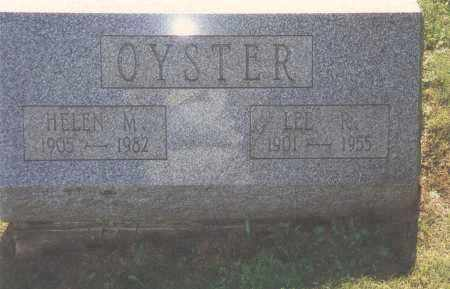 OYSTER, LEE R - Northumberland County, Pennsylvania | LEE R OYSTER - Pennsylvania Gravestone Photos