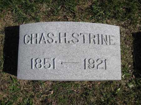 STRINE, CHARLES - Northumberland County, Pennsylvania | CHARLES STRINE - Pennsylvania Gravestone Photos