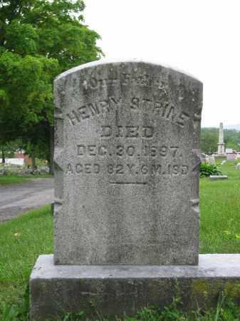 STRINE, HENRY - Northumberland County, Pennsylvania | HENRY STRINE - Pennsylvania Gravestone Photos