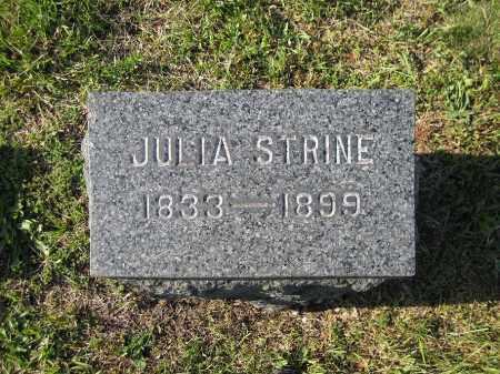 TROXELL STRINE, JULIA - Northumberland County, Pennsylvania | JULIA TROXELL STRINE - Pennsylvania Gravestone Photos