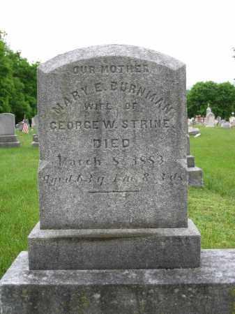 STRINE, MARY - Northumberland County, Pennsylvania | MARY STRINE - Pennsylvania Gravestone Photos