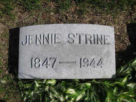 MARTIN STRINE, MARY - Northumberland County, Pennsylvania | MARY MARTIN STRINE - Pennsylvania Gravestone Photos