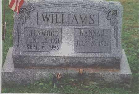 WILLIAMS, HANNA R - Northumberland County, Pennsylvania | HANNA R WILLIAMS - Pennsylvania Gravestone Photos