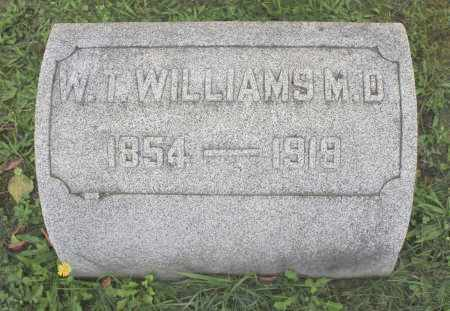 WILLIAMS M.D., W. T. - Northumberland County, Pennsylvania | W. T. WILLIAMS M.D. - Pennsylvania Gravestone Photos