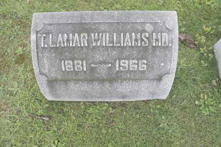 WILLIAMS MD, T. LAMAR - Northumberland County, Pennsylvania | T. LAMAR WILLIAMS MD - Pennsylvania Gravestone Photos