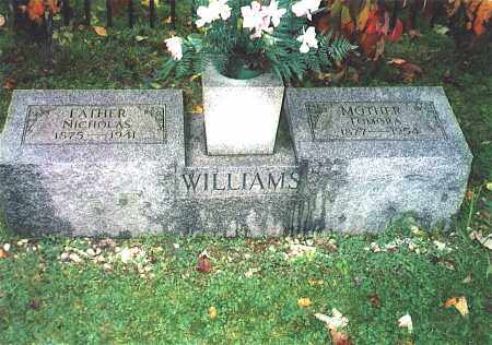 WILLIAMS, TOMORA - Northumberland County, Pennsylvania | TOMORA WILLIAMS - Pennsylvania Gravestone Photos