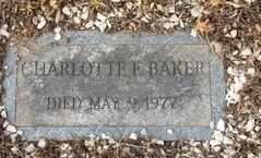 BAKER, CHARLOTTE - Perry County, Pennsylvania | CHARLOTTE BAKER - Pennsylvania Gravestone Photos