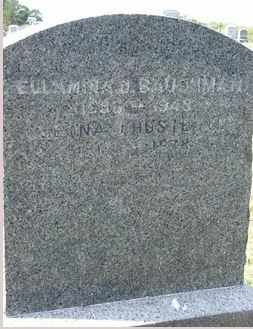 CLOUSER BAUGHMAN, ELLAMINA - Perry County, Pennsylvania | ELLAMINA CLOUSER BAUGHMAN - Pennsylvania Gravestone Photos