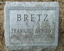 BRETZ, FRANK - Perry County, Pennsylvania | FRANK BRETZ - Pennsylvania Gravestone Photos