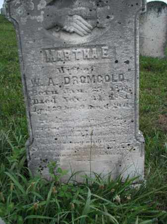 SHULL DROMGOLD, MARTHA E. - Perry County, Pennsylvania | MARTHA E. SHULL DROMGOLD - Pennsylvania Gravestone Photos