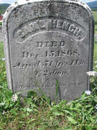 HENCH, SAMUEL H. - Perry County, Pennsylvania | SAMUEL H. HENCH - Pennsylvania Gravestone Photos
