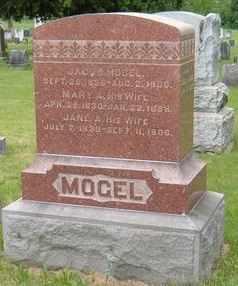 MILLER MOGEL, JANE - Perry County, Pennsylvania | JANE MILLER MOGEL - Pennsylvania Gravestone Photos