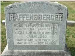 RAFFENSBERGER, ROSS - Perry County, Pennsylvania | ROSS RAFFENSBERGER - Pennsylvania Gravestone Photos