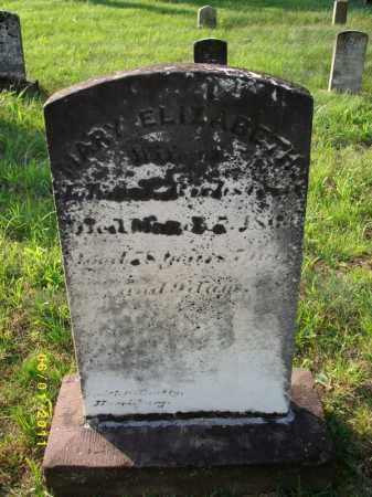 RICHSTEIN, MARY ELIZABETH - Perry County, Pennsylvania | MARY ELIZABETH RICHSTEIN - Pennsylvania Gravestone Photos