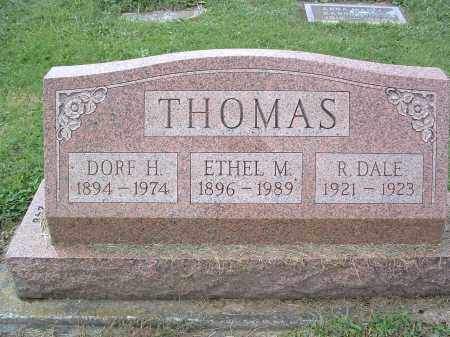 THOMAS, DORF H. - Perry County, Pennsylvania | DORF H. THOMAS - Pennsylvania Gravestone Photos