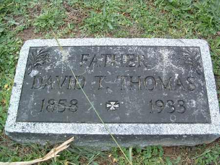 THOMAS, DAVID T. - Perry County, Pennsylvania   DAVID T. THOMAS - Pennsylvania Gravestone Photos