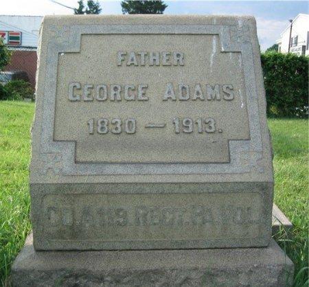 ADAMS (CW), GEORGE - Philadelphia County, Pennsylvania | GEORGE ADAMS (CW) - Pennsylvania Gravestone Photos