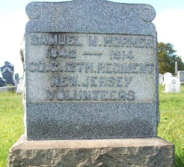 HORNER (CW), SAMUEL M. - Philadelphia County, Pennsylvania | SAMUEL M. HORNER (CW) - Pennsylvania Gravestone Photos