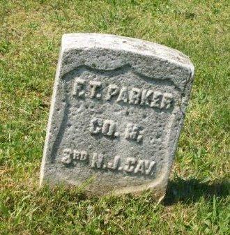 PARKER (CW), FRANKLIN T. - Philadelphia County, Pennsylvania   FRANKLIN T. PARKER (CW) - Pennsylvania Gravestone Photos