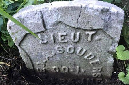 SOUDERS (CW), GEORGE W. - Philadelphia County, Pennsylvania | GEORGE W. SOUDERS (CW) - Pennsylvania Gravestone Photos