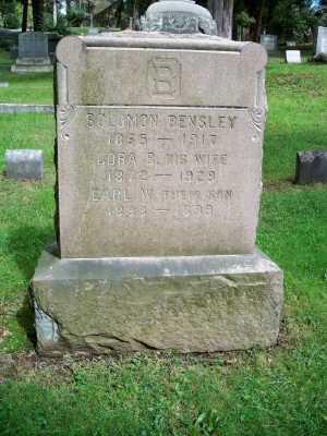 BENSLEY, SOLOMON - Pike County, Pennsylvania | SOLOMON BENSLEY - Pennsylvania Gravestone Photos