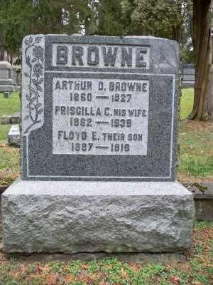 BROWNE, PRISCILLA C. - Pike County, Pennsylvania | PRISCILLA C. BROWNE - Pennsylvania Gravestone Photos